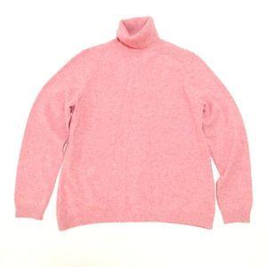 Vintage LL BEAN cashmere Turtleneck sweater xl